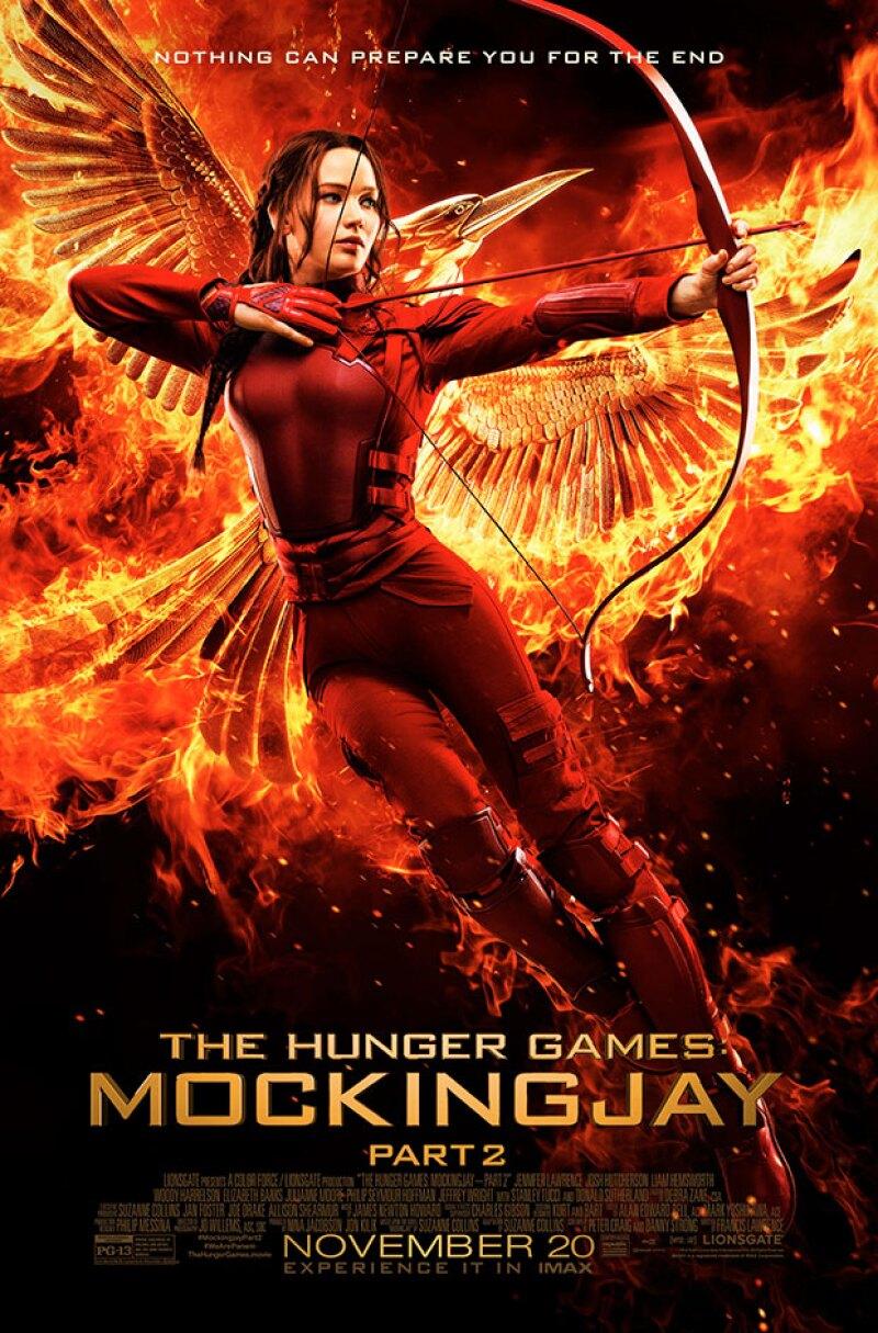 Ahora que la última entrega de Hunger Games está por llegar a los cines y la publicidad ha inundado las calles, en Medio Oriente no parecen estar muy felices con la foto de la heroína en ella.