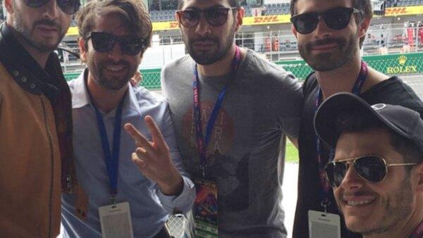 Las redes sociales se han llenado con los posts de las celebridades que vivieron los primeros días de la Fórmula 1 en el Autodromo Hermanos Rodríguez.