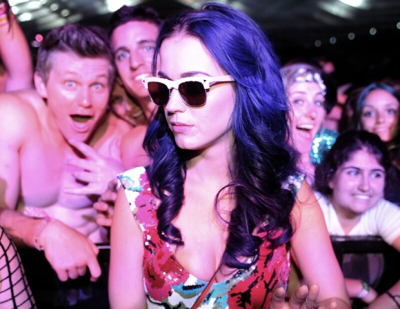 Katy Perry es fan del festival.