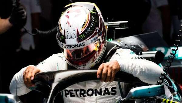 Lewis Hamilton en las prácticas del GP de China 2018