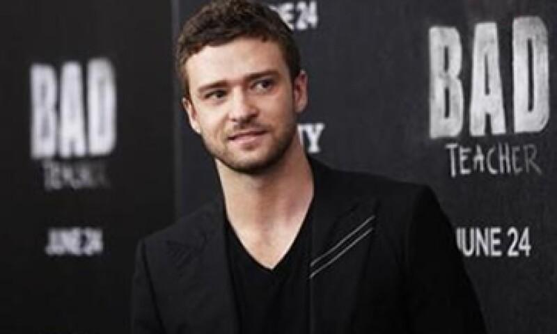 Justin Timberlake interpretó al fundador de Napster Sean Parker en la película The Social Network. (Foto: Reuters)