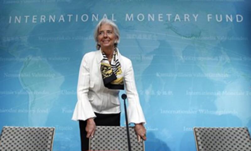 La directora del FMI, Christine Lagarde, dijo que la recuperación económica está recuperando terreno en EU. (Foto: Reuters)