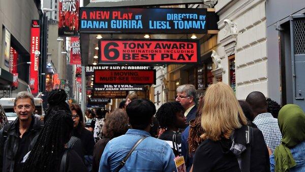 Tan solo el 25% de los espectáculos de Broadway son rentables.