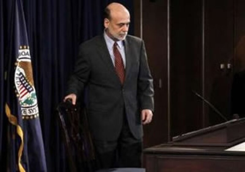 Ben Bernanke, presidente de la Reserva Federal. (Foto: Reuters)