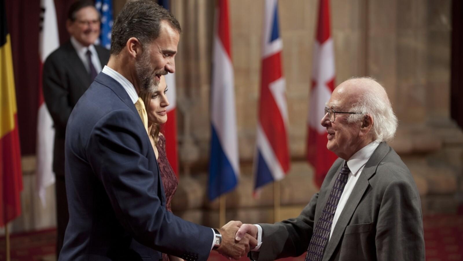 Peter Higgs boson de Higgs Principe de Asturias