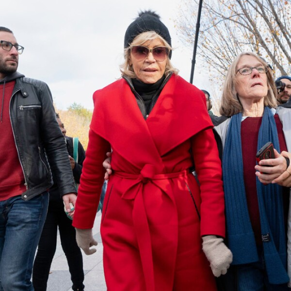 'Fire Drill Fridays' Climate Protest, Capitol Hill, Washington DC, USA - 08 Nov 2019