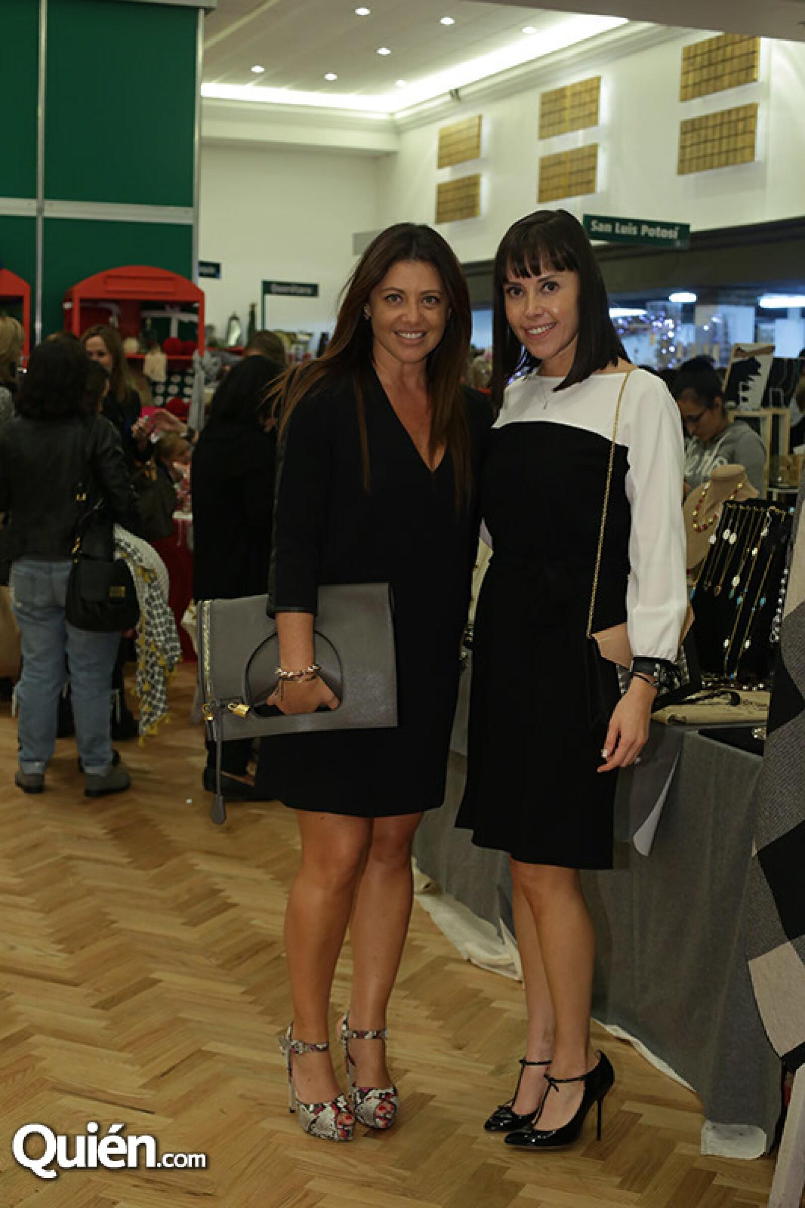 Olga Hanono y Tania García