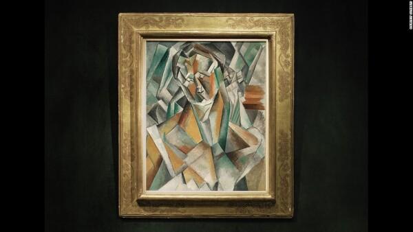 La pintura supuestamente representa a una de las amantes de Picasso, Fernande Olivier.