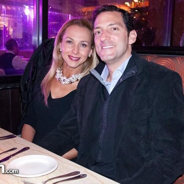 Ximena Mina y Gerardo Rojas