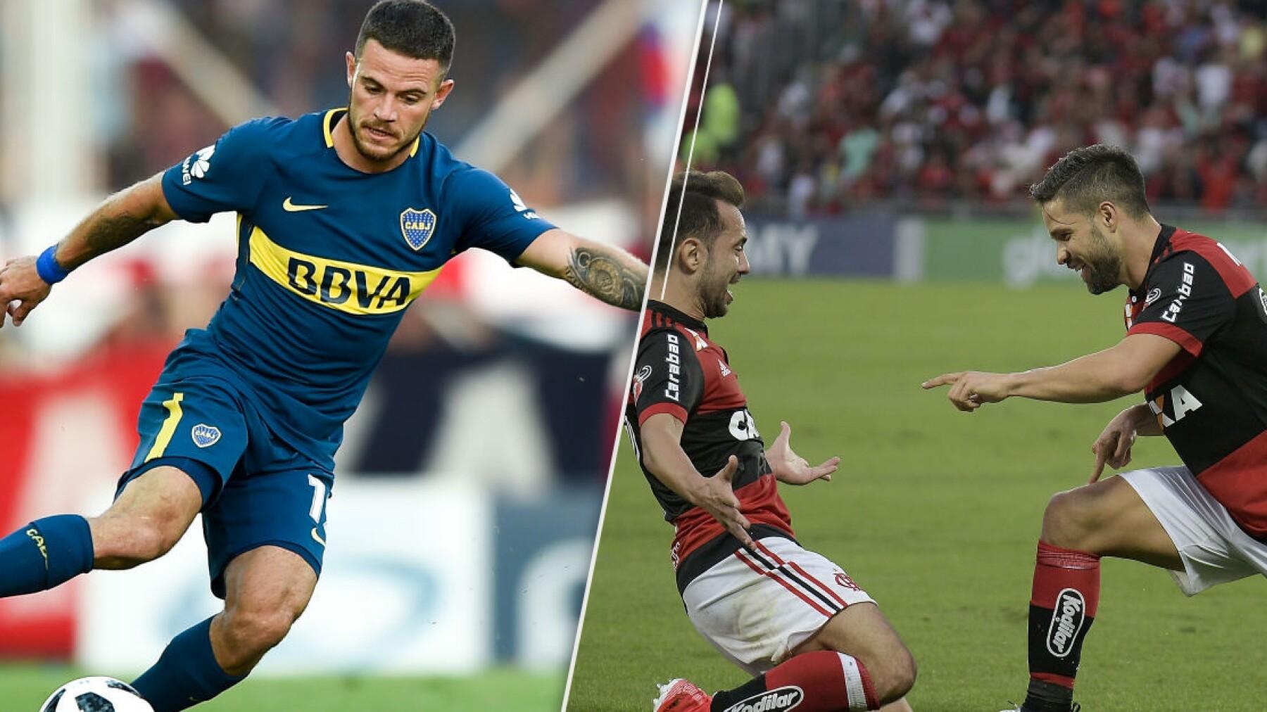 Boca Juniors y Sao Paulo