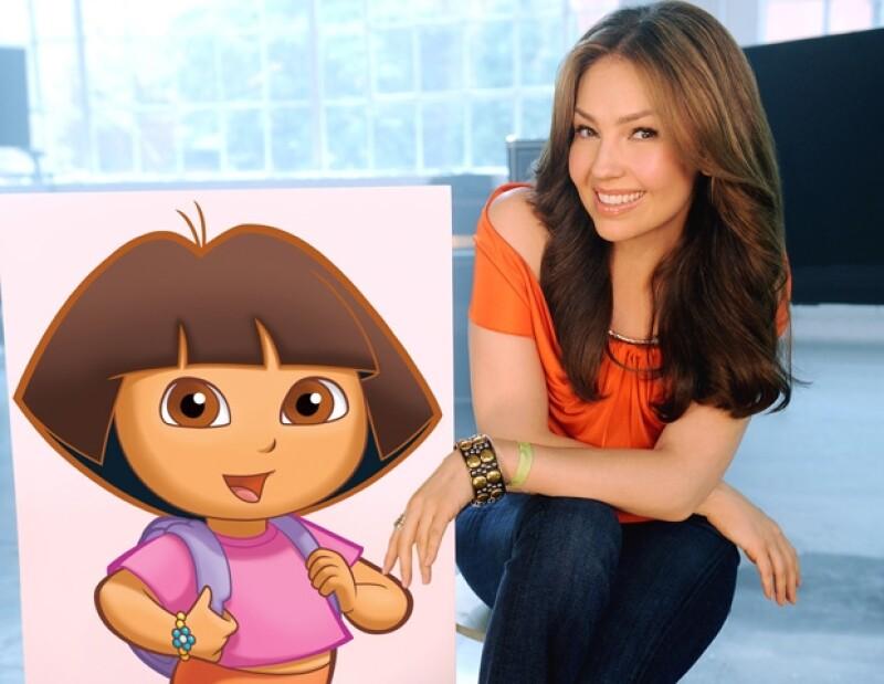 La cantante aparecerá en un capítulo del show de la exploradora consentida de los niños, titulado `Rescate en el Reino de las Sirenas´.