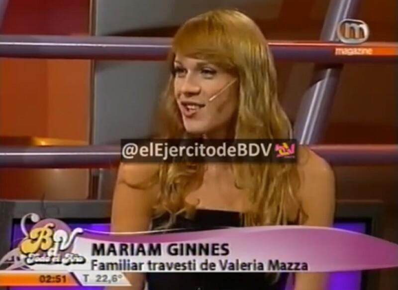 Un medio reveló un video de YouTube en el que aparece Mariana en una entrevista de televisión cuando aún no cambiaba su voz.
