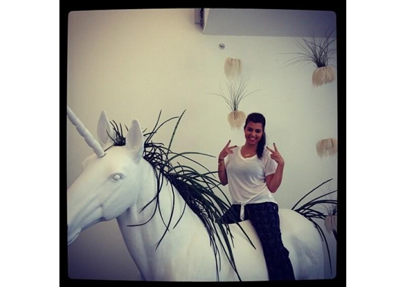 Kate Upton en la bañera, las tardes de trova de Anahí y ¿un unicornio? Fue como los famosos vivieron esta semana en Twitter.