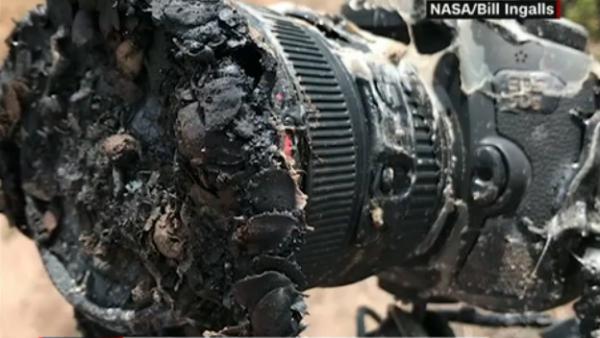#ElDatoDeHoy: una cámara se derritió a 400 metros del despegue de un cohete