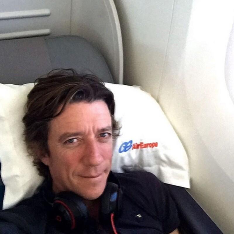 El ex esposo de la cantante declaró que tanto él como el hijo de ambos, Andrea Nicolás, están contentos con la llegada del segundo hijo de Pau.