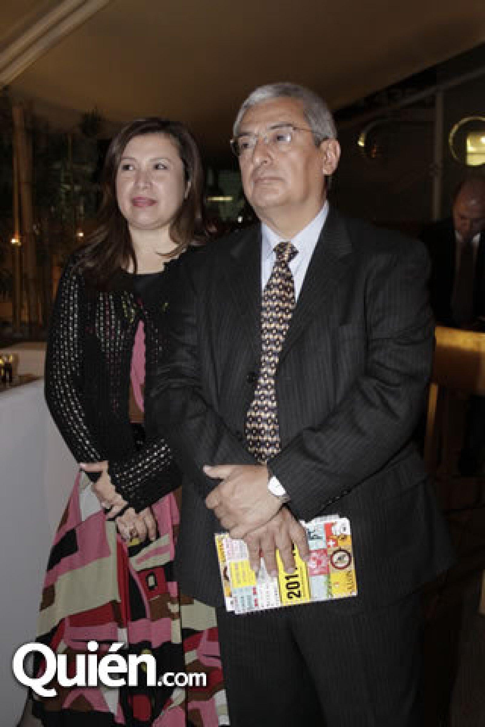 Rosy y Óscar del Rivero