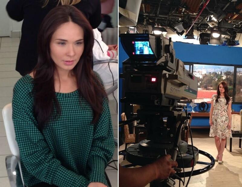 """La actriz inició las grabaciones de su protagónico en la telenovela """"Yo no creo en los hombres"""" y da su opinión personal sobre el tópico que da título al proyecto."""