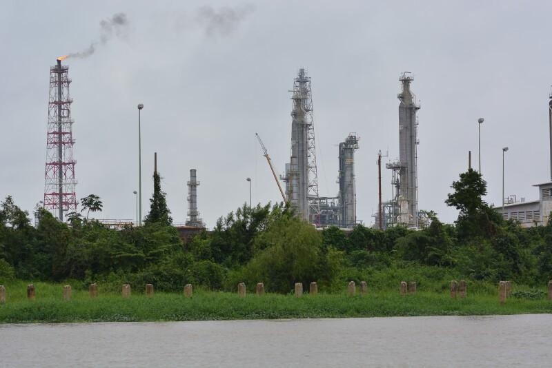 Energía negocios producción petrolera