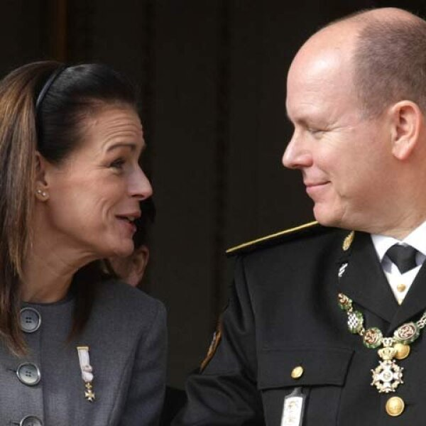 La gran ausente de la ceremonia fue Charlene Wittstock, quien podría convertirse a la nobleza por su relación con el soberano.