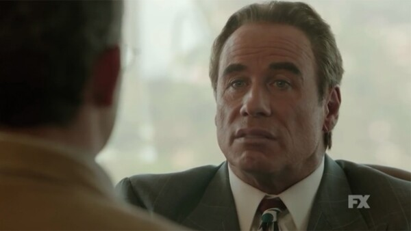 El actor interpreta al afamado abogado Robert Shapiro en la nueva serie, American Crime Story: The People V OJ Simpson.