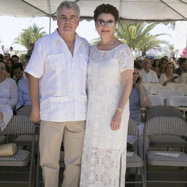 Fidel Gutiérrez y Alejandra Cetto