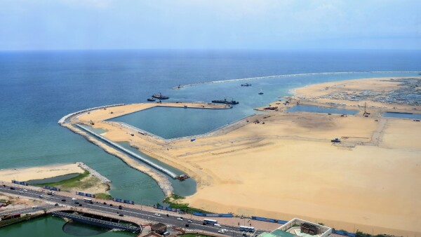 Sri Lanka - Isla Artificial