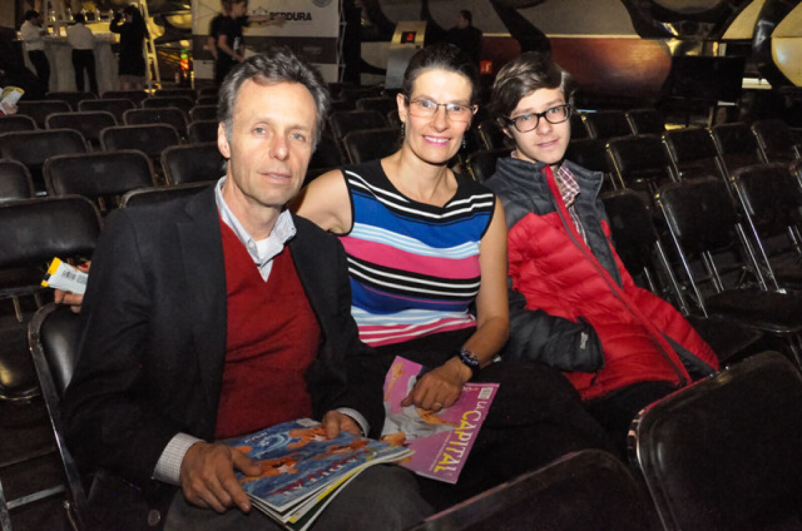 Emilio,Laura y Mateo de la Torre