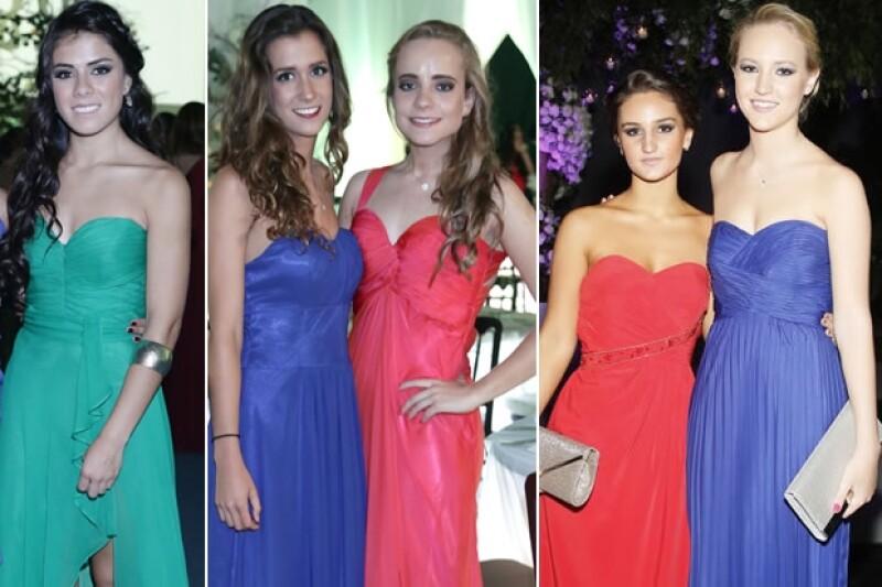 Paulina Peña, Renata Gómez, Nuria Vázquez, María Cattori y Ximena Cattori.