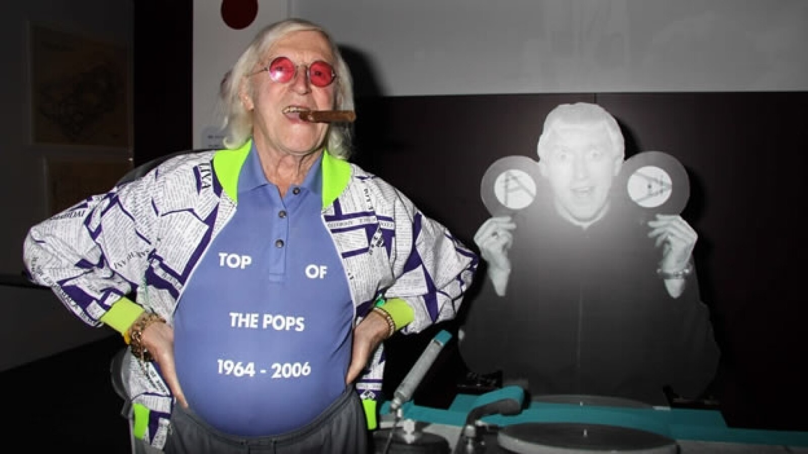 Jimmy Savile, exconductor de la BBC