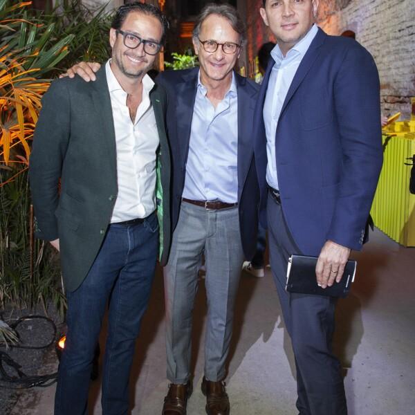 Diego Pardo, Marco Beteta, Leonardo Valle