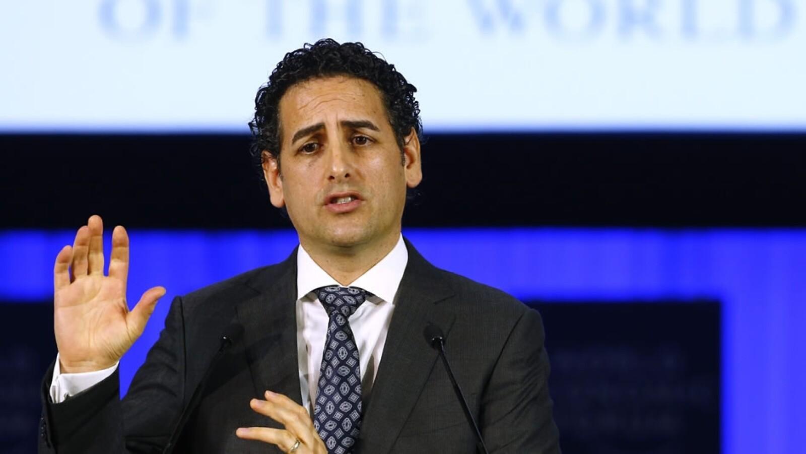 Personalidades en el Foro Economico Mundial en Davos