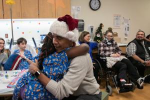 Obama convivió con los pequeños durante hora y media. (Foto: Children's  National)