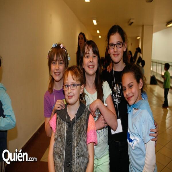 Tallulah Finjer,Frederica Torres,Sofia Álvarez,Paulina Ini.,Natalia Labardini