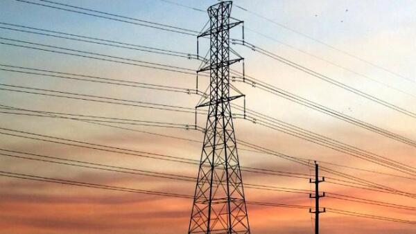 Torre de energ�a el�ctrica