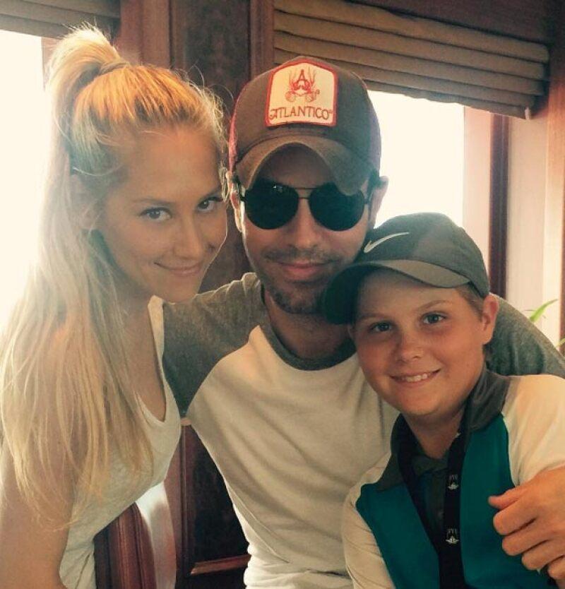 Aunque su relación empezó en 2001, la tenista y el cantante siempre han sido muy privados con su vida sentimental, por lo que esta foto de ambos en Instagram sorprende.