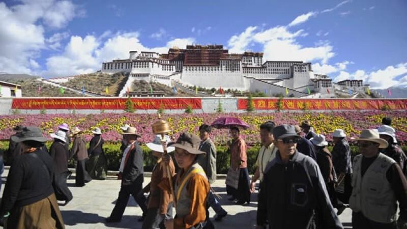 Palacio de Potala - Lhasa - Tíbet