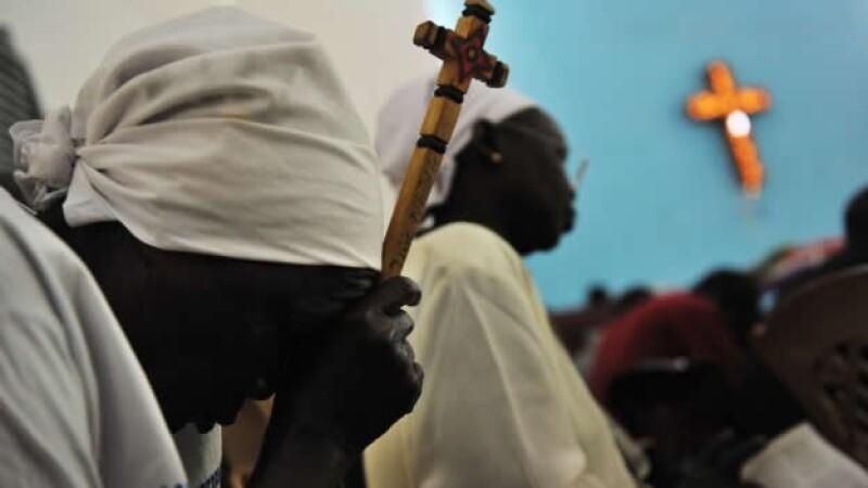 mujer cristiana sudan