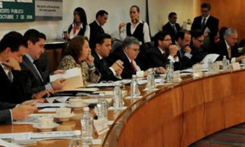 Carstens compareció ante la Comisión de Hacienda y Crédito Público de la Cámara de Diputados. (Foto: Tomada de @Mx_Diputados)