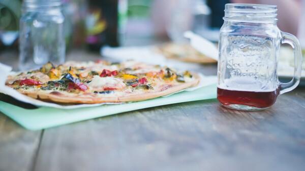La pizza del futuro llegará en un automóvil sin conductor