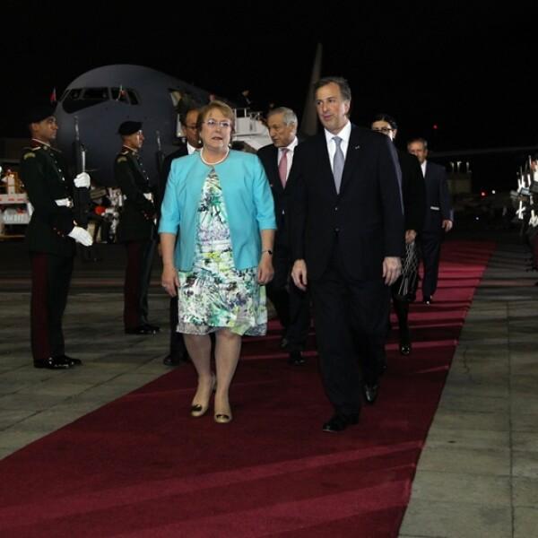 Bachelet en México 1