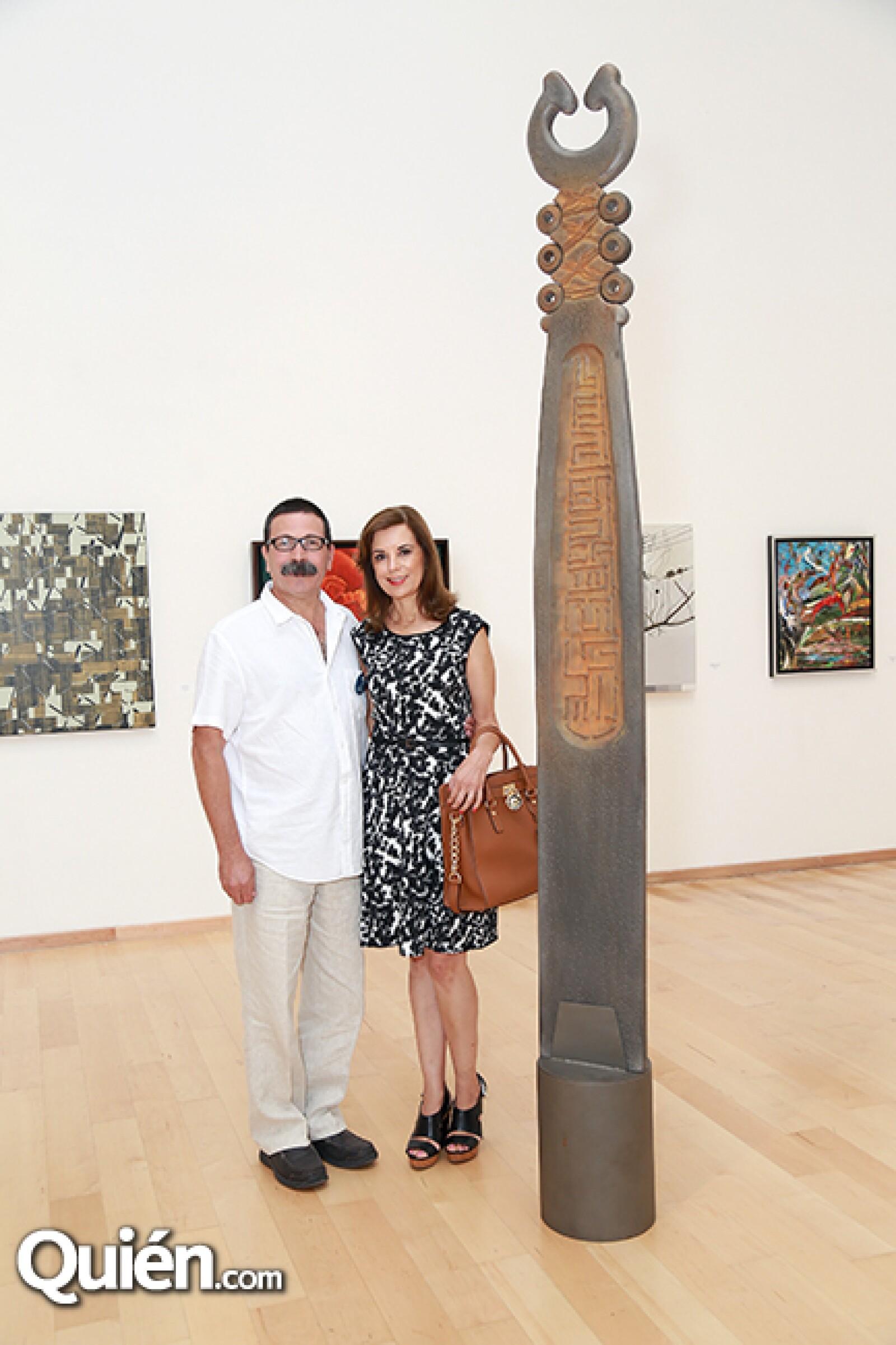 Sergio Galán y,María Teresa Fernández de Galán