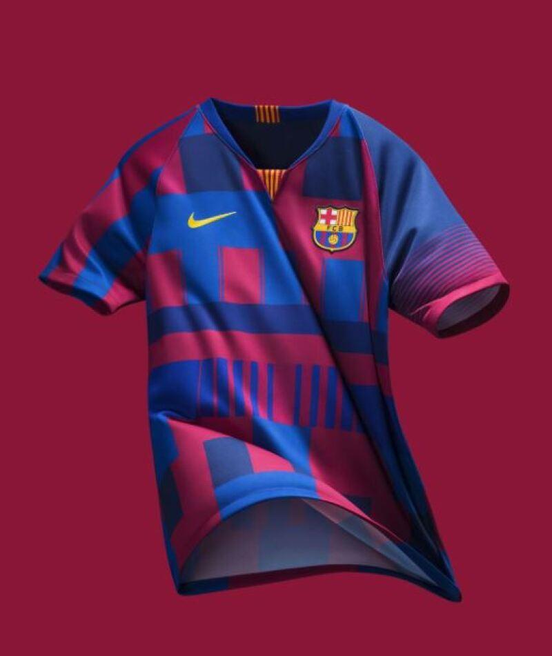 Nike festeja 20 años con el Barcelona con este jersey de edición ... 7726e6a3b29