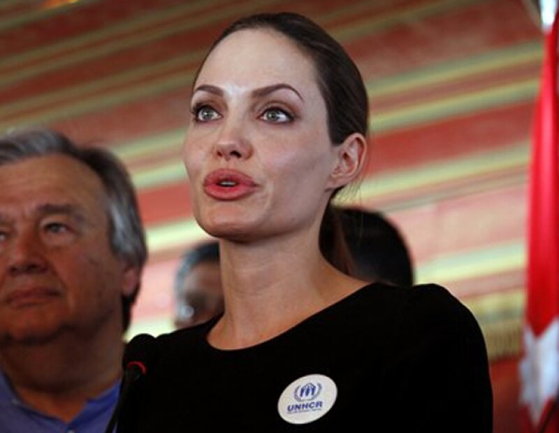 Angelina siempre ha mostrado su apoyo a las personas más desprotegidas.