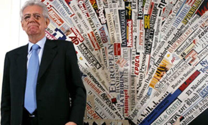 El premier Mario Monti dijo que su Gobierno debe evitar que Italia se convierta en una posible fuente de infección en la eurozona. (Foto: AP)