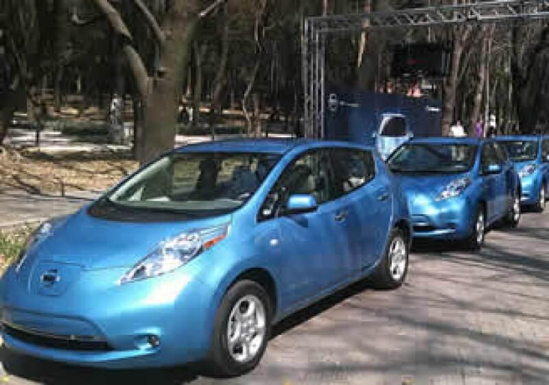 Nissan presentó su vehículo ecológico este lunes en México. (Foto: Francisco Rubio)
