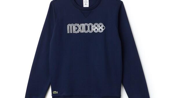 Lacoste se inspira en México 68 para su nueva colección