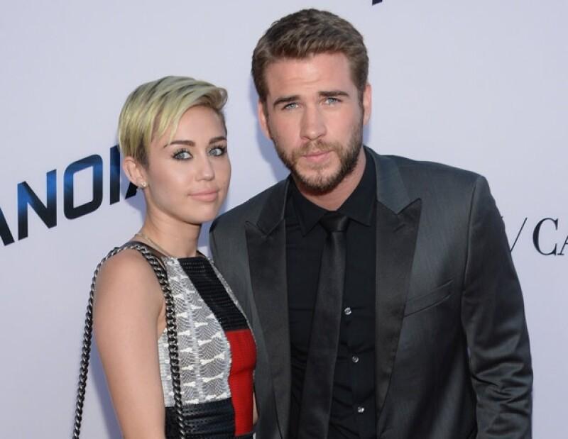Liam y Miley hicieron oficial su rompimiento en septiembre de 2013