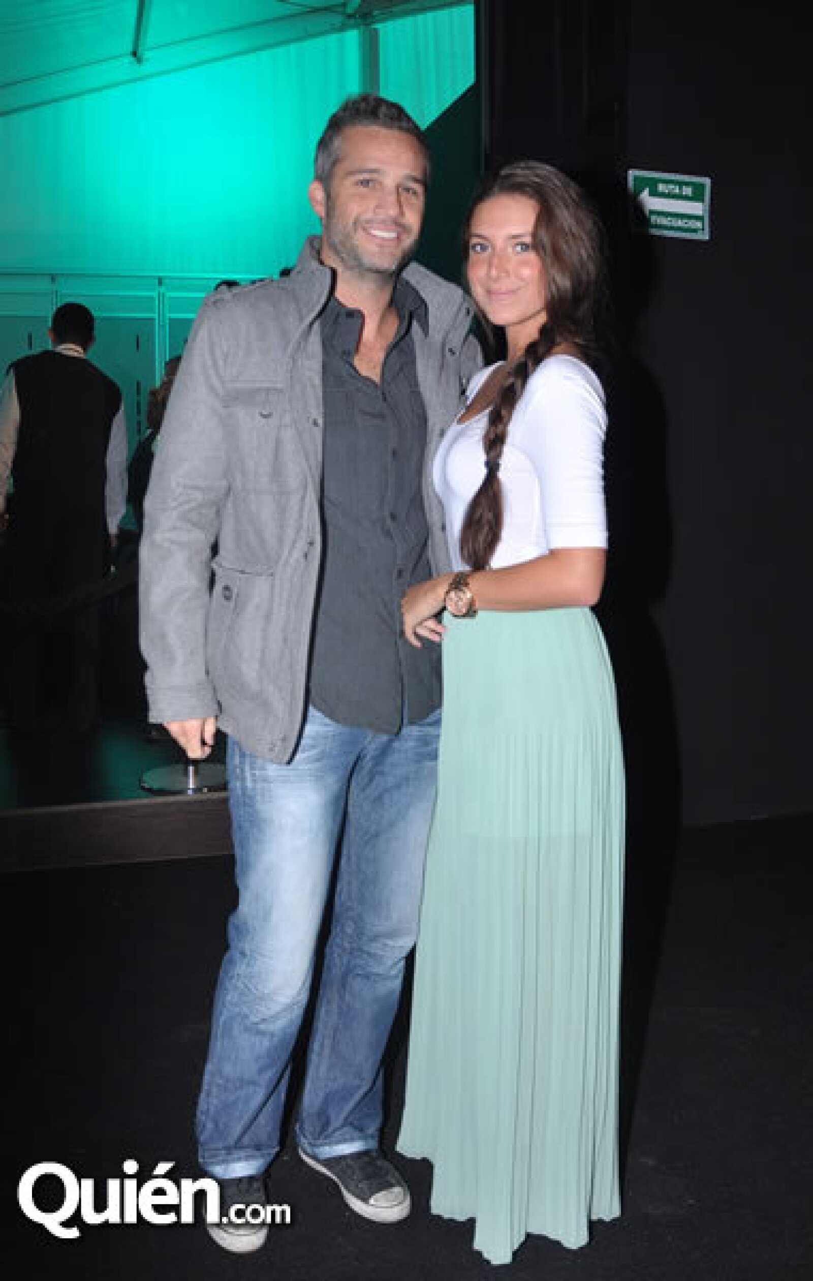Juan Pablo Medina y Fernanda Ortiz
