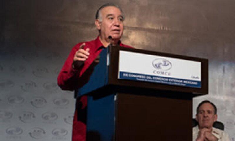 Valentín Díez Morodo invitó a empresarios españoles a invertir en la Alianza del Pacífico. (Foto: Tomada del sitio de www.comce.org.mx)