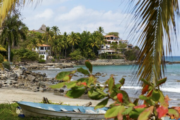 Sayulita is a village on Mexico's Pacific coast popular with surfers